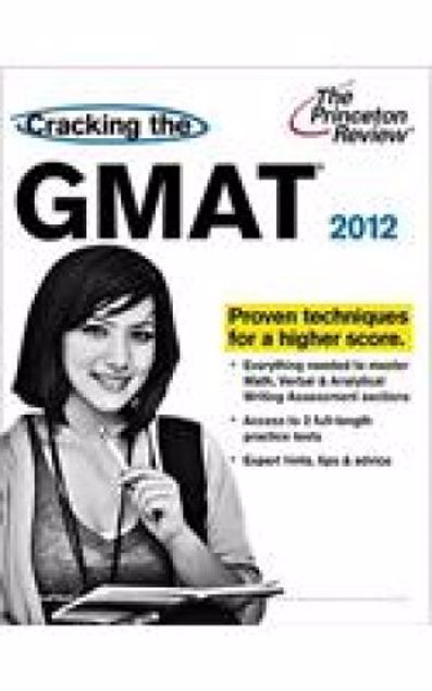 Picture of Cracking The Gmat 2012