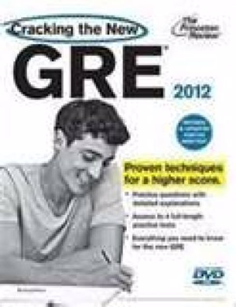 Picture of Cracking The New Gre 2012 + Dvd