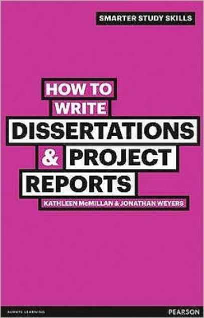 Picture of How To Write Dissertations And Project Reports