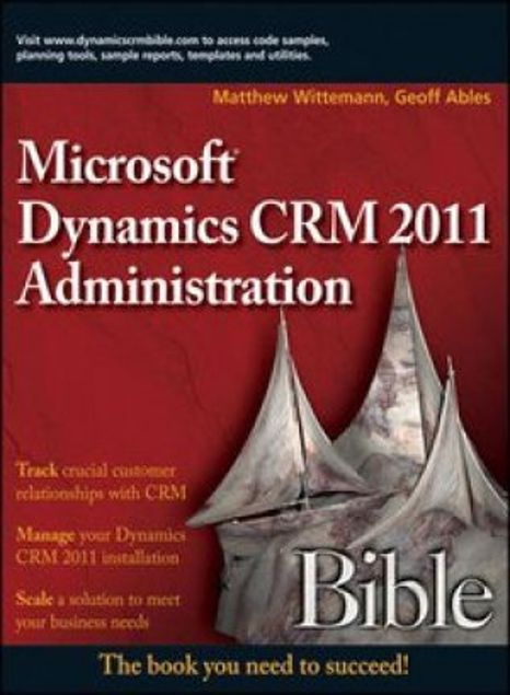Picture of Microsoft Dynamics Crm 2011 Administration Bible