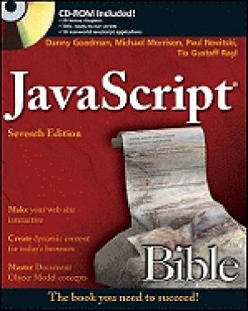 Picture of Java Script Bible  (Cd-Rom Included)  7Th Edition