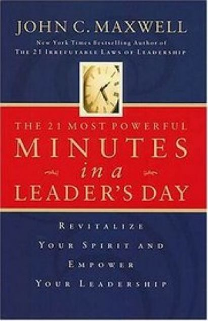 Picture of 21 Most Powerful Minutes In A Leader's Day (Cass)