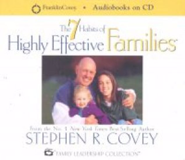 Picture of 7 Habits Of Highly Effective Families (Cd)