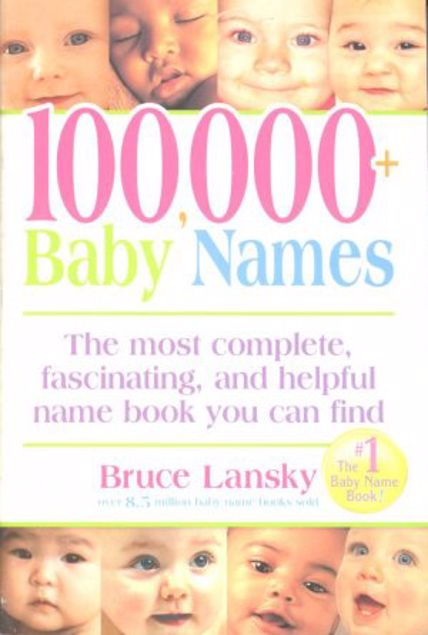 Picture of 100,000+ Baby Names