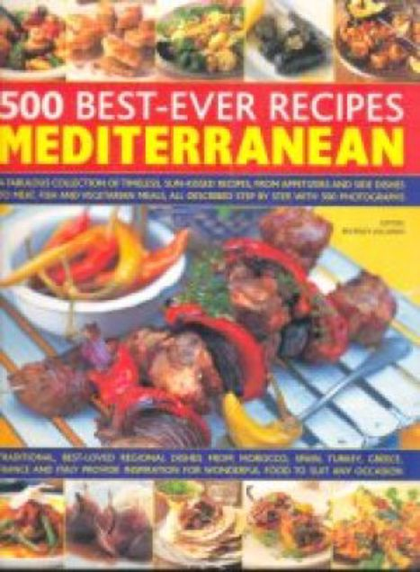 Picture of 500 Best-Ever Recipes Mediterranean, Paper Cover