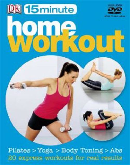Picture of 15 Minute Home Workout With Dvd