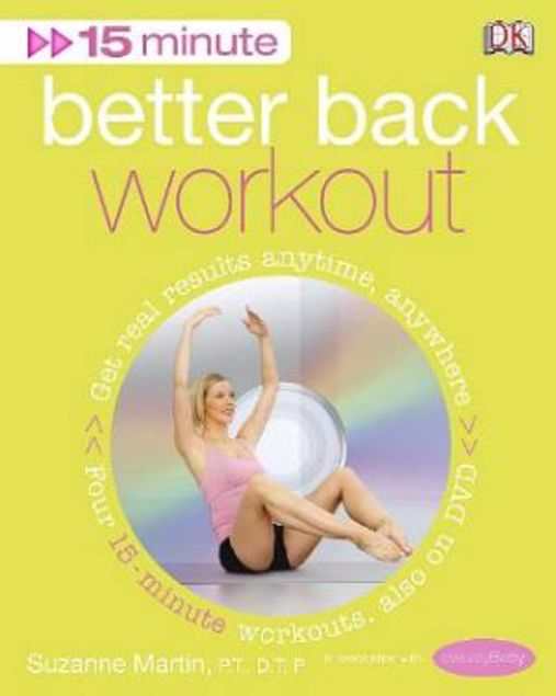 Picture of 15 Minute Better Back Workout With Dvd