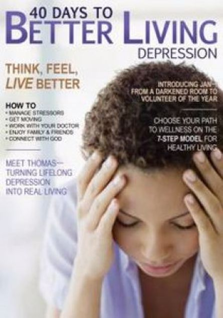 Picture of 40 Days To Better Living--Depression