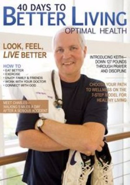 Picture of 40 Days To Better Living--Optimal Health