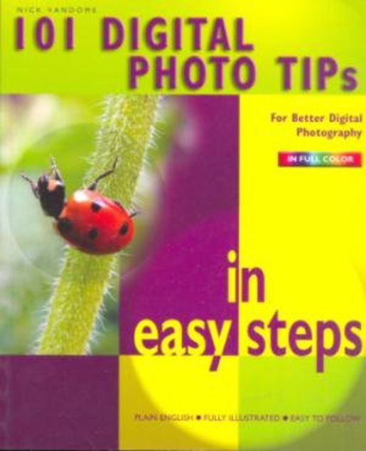 Picture of 101 Digital Photo Tips, Paper Cover