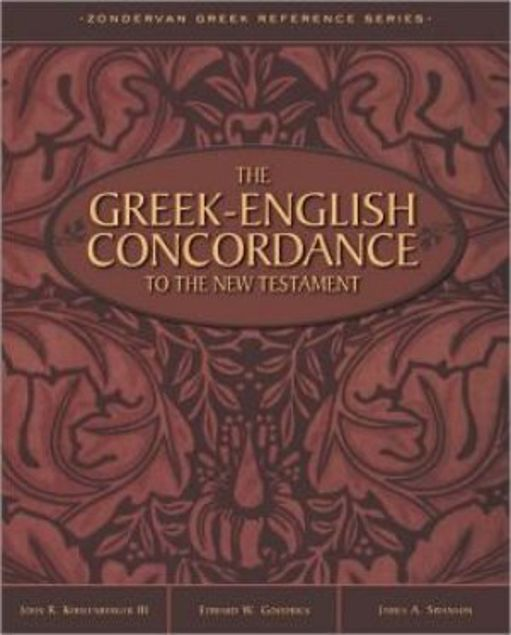 Picture of The Greek-English Concordance To The New Testament