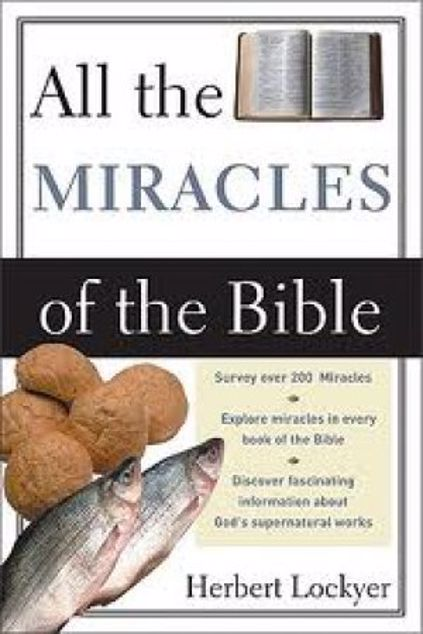 Picture of All The Miracles In The Bible