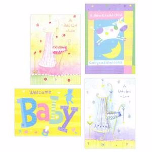 Picture of Baby Sweet Beginnings (12 Set Of Cards)