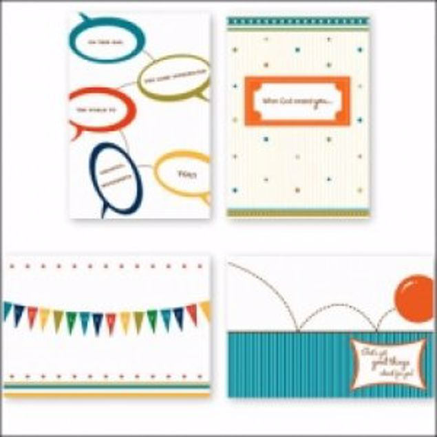 Picture of Birthday Chat (12 Set Of Cards)