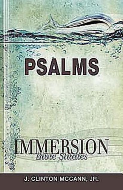 Picture of Immersion Bible Studies - Psalms