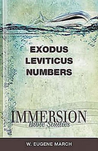 Picture of Immersion Bible Studies: Exodus, Leviticus, Numbers