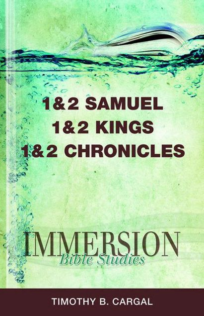 Picture of Immersion Bible Studies: 1 & 2 Samuel, 1 & 2 Kings, 1 & 2 Chronicles