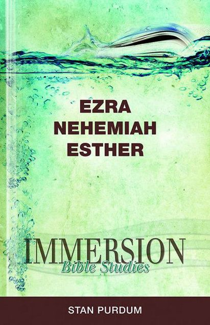 Picture of Immersion Bible Studies: Ezra, Nehemiah, Esther