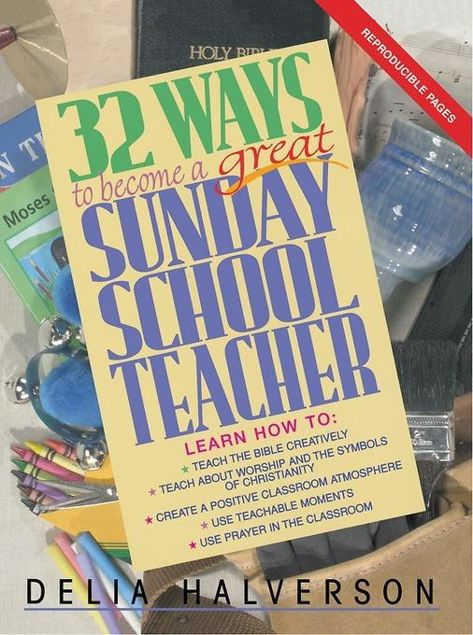 Picture of 32 Ways to Become a Great Sunday School Teacher