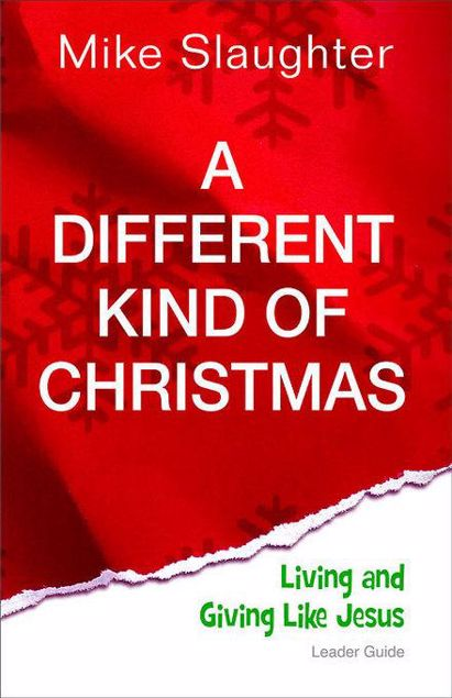 Picture of A Different Kind of Christmas Leader Guide: Living and Giving Like Jesus