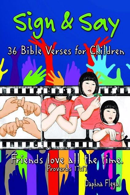 Picture of Sign & Say: 36 Bible Verses for Children