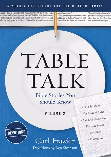 Picture of Table Talk Volume 2 - Devotions: Bible Stories You Should Know