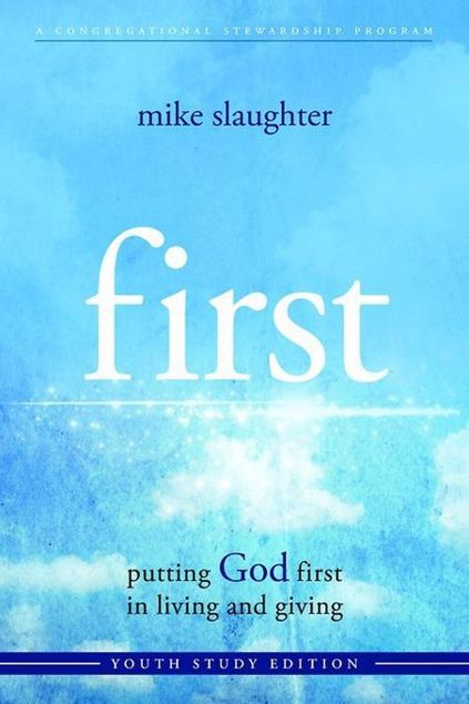 Picture of first - Youth Study Edition: putting GOD first in living and giving