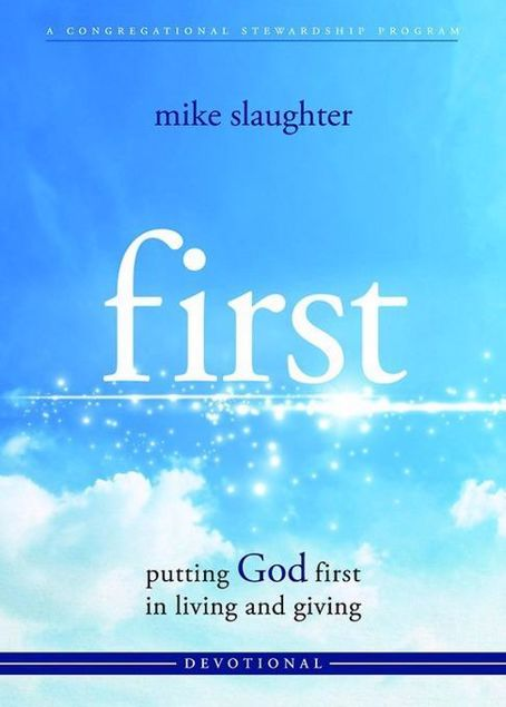 Picture of first - Devotional: putting GOD first in living and giving