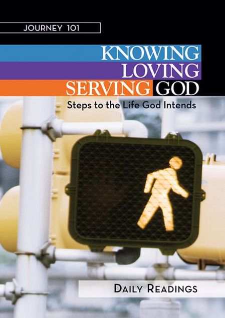 Picture of Journey 101: Daily Readings: Knowing God, Loving God, Serving God: Steps to the Life God Intends