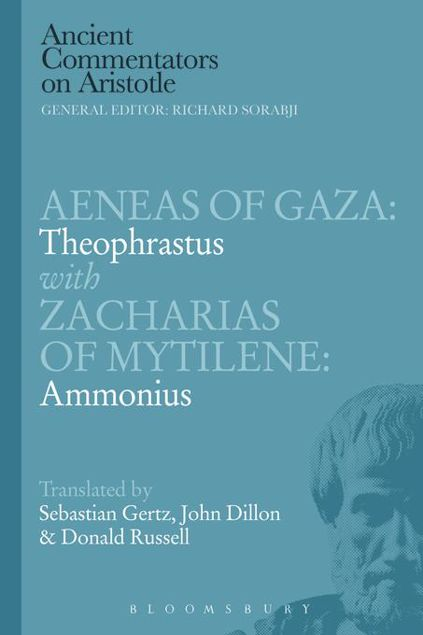 Picture of Aeneas of Gaza: Theophrastus with Zacharias of Mytilene: Ammonius