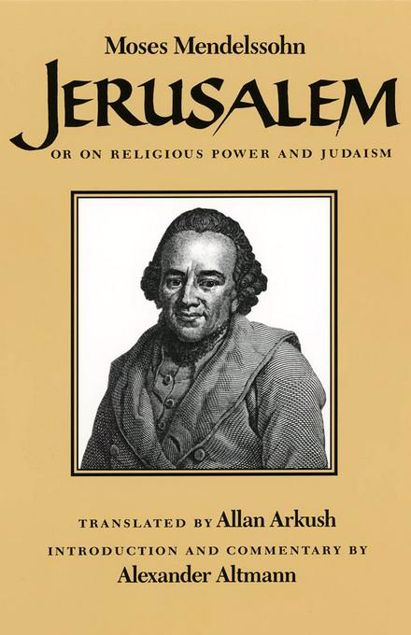 Picture of Jerusalem: Or on Religious Power and Judaism
