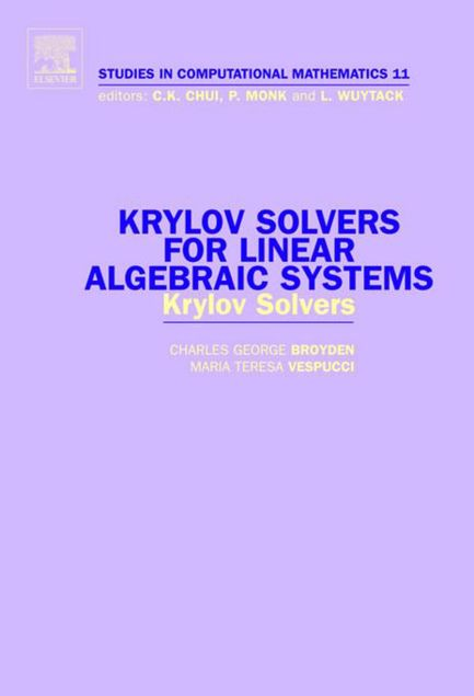 Picture of Krylov Solvers for Linear Algebraic Systems: Krylov Solvers
