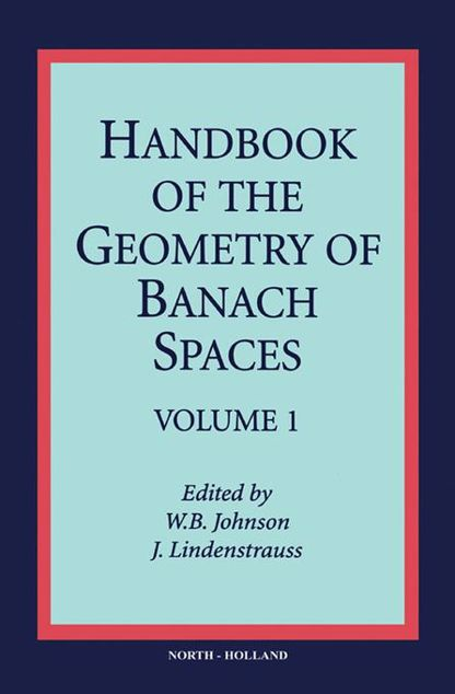 Picture of Handbook of the Geometry of Banach Spaces