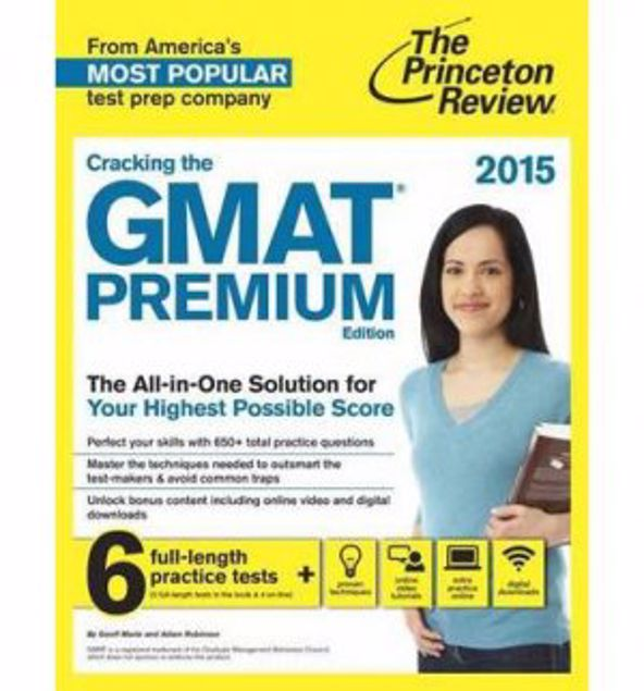 Picture of Cracking The Gmat With 6 Practice Tests