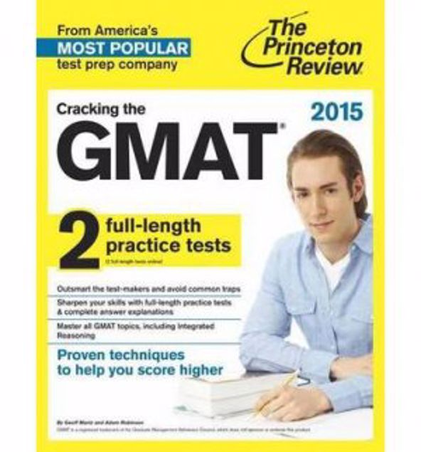 Picture of Cracking The Gmat With 2 Practice Tests