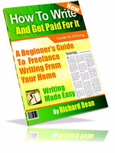 Picture of How To Write And Get Paid For It