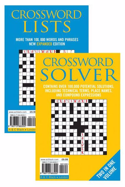 Picture of Crossword Lists & Crossword Solver: Over 100,000 potential solutions including technical terms, place names and compound expressions