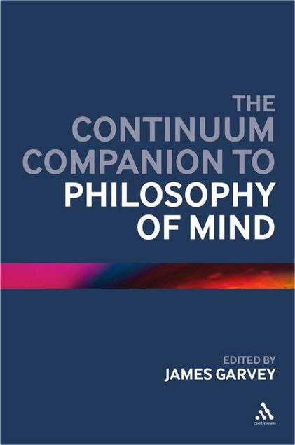 Picture of Continuum Companion to Philosophy of Mind