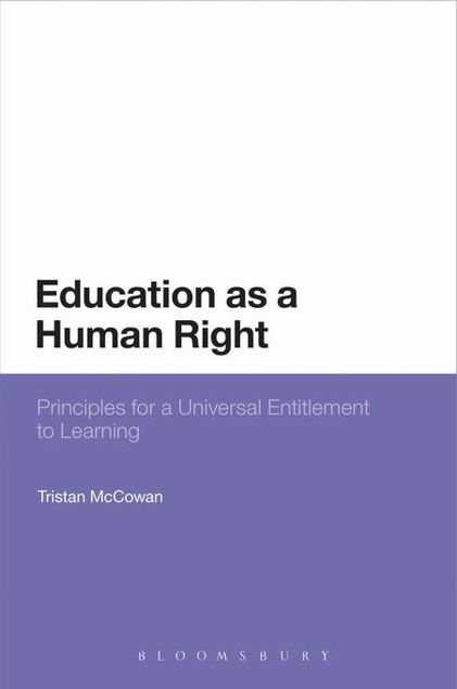 Picture of Education as a Human Right: Principles for a Universal Entitlement to Learning