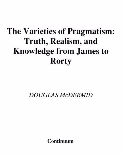 Picture of The Varieties of Pragmatism