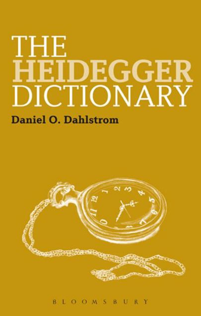 Picture of The Heidegger Dictionary