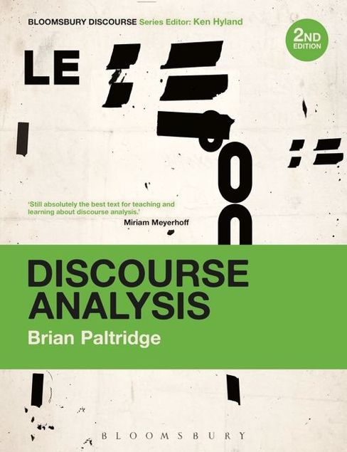 Picture of Discourse Analysis: An Introduction