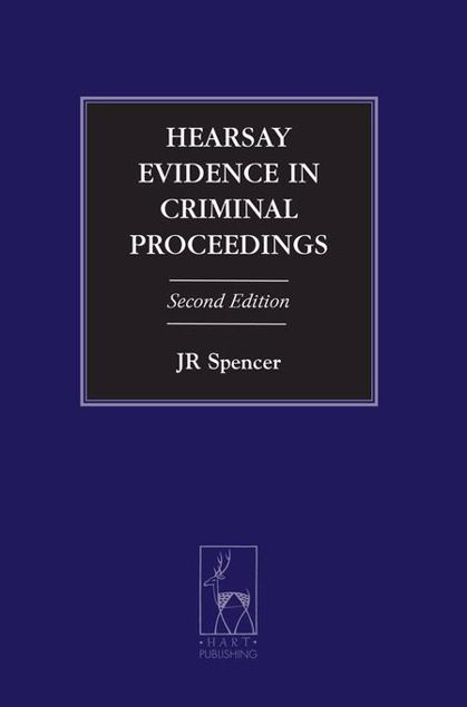 Picture of Hearsay Evidence in Criminal Proceedings