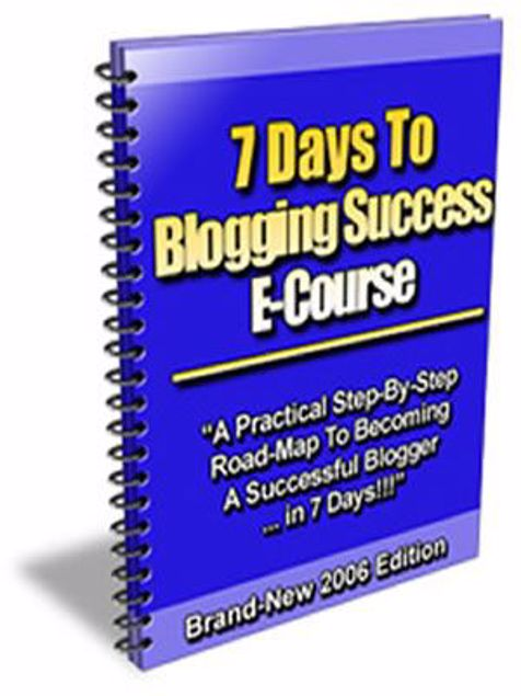 Picture of 7 Days To Blogging Success