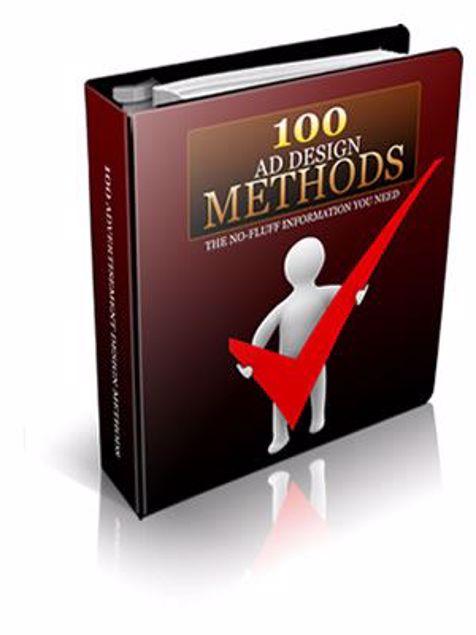 Picture of 100 Ad Design Methods