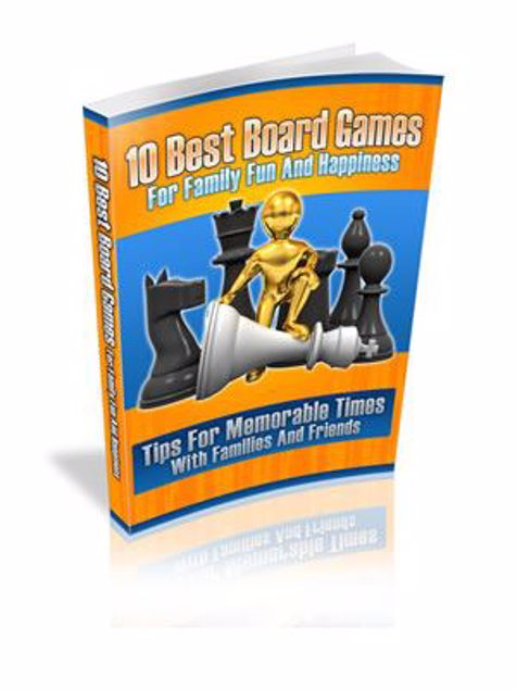 Picture of 10 Best Board Game For Family Fun & Happiness