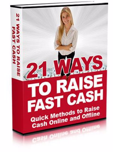 Picture of 21 Ways To Raise Fast Cash