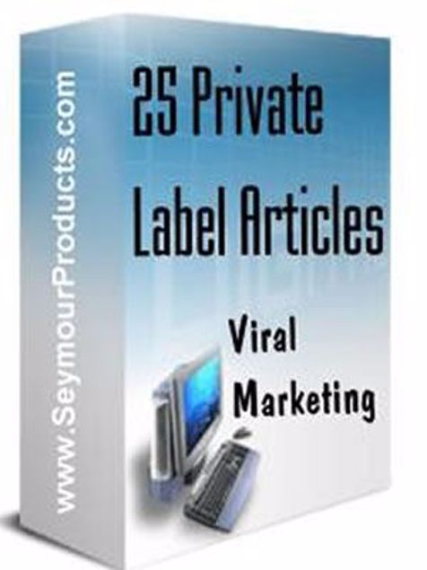 Picture of 25 Private Label Articles
