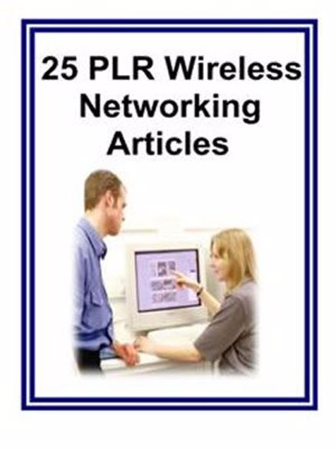 Picture of 25 PLR Wireless Networking Article