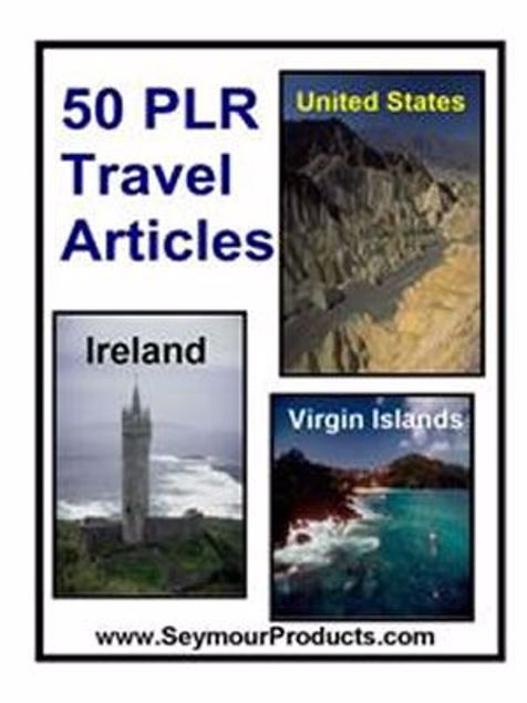 Picture of 50 PLR Travel Articles